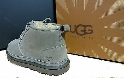 UGG Australia Mens Neumel  Suede & Shearling Boots 3236 DARK FAWN