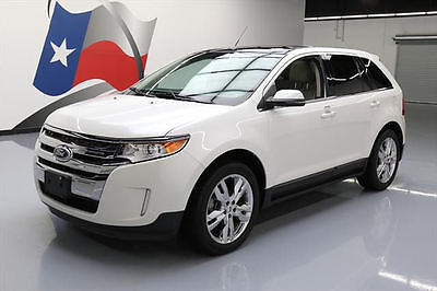 2012 Ford Edge Limited Sport Utility 4-Door 2012 FORD EDGE LTD ECOBOOST LEATHER PANO ROOF NAV 53K #A49430 Texas Direct Auto