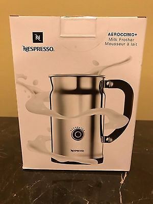 Sealed New in Box Nespresso Aeroccino Plus Electric Milk Frother 3192-US NIB