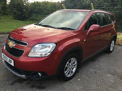 2012 CHEVROLET ORLANDO LT 2.0 diesel VCDI AUTO RED don 53800 mile cat d .7 Seat