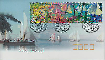 Cocos(Keeling) Islands 1999 Jukongs First Day Cover