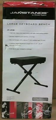 NEW JamStands Large Keyboard Bench $95
