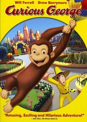Curious George [New DVD] Ac-3/Dolby Digital, Dolby, Dubbed, Subtitled, Widescr