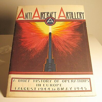 Wwii History Of The Antiaircraft Artillery U.s. 3Rd Army