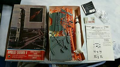 """Count Down Inc No Scale Shown Apollo Saturn V & Tower Platform Model Kit( 16"""" )"""