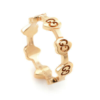 Gucci Icon 18K Yellow Gold Heart Ring CUOREJY