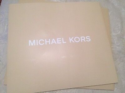 "NEW Authentic MICHAEL KORS Large Gift Box 18""x 16""depth  7"""