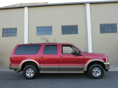 2003 Ford Excursion FREE SHIPPING! RUST FREE 4WD 7.3L DIESEL ALSO 2002 Excursion 7.3L Diesel 4X4 Eddie Bauer Package 1 OWNER GARAGE KEPT MINT CONDITION