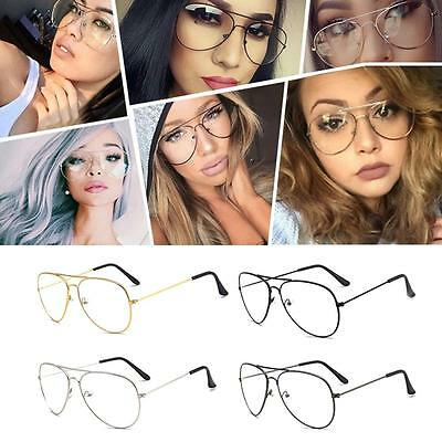 Woman Men Eyeglasses Frames Clear Lens Glasses Reading Glass UV Protection Clear