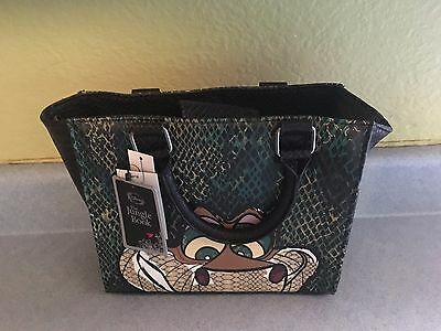 NEW DISNEY Loungefly THE JUNGLE BOOK KAA Snake Hand Bag Purse W/ Shoulder Strap
