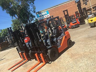 Forklift , Toyota Brand New , Container Mast , Factory Warranty , Lqqk ��