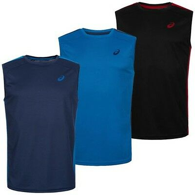 ASICS Men'S Running Shirt Sleeveless Tank Top T-Shirt sports Sz. S - XXL new
