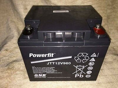 12volt Battery Deep Cycle 37.5AH AGM (new never used)