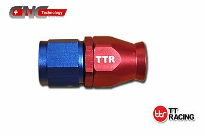 AN6 6AN AN-6 AN -6 Brake Straight Swivel Fittings Hose End for PTFE Fuel Hose