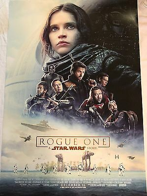 Rogue One: A Star Wars Story Double Sided Original Theater 27x40 Movie Poster