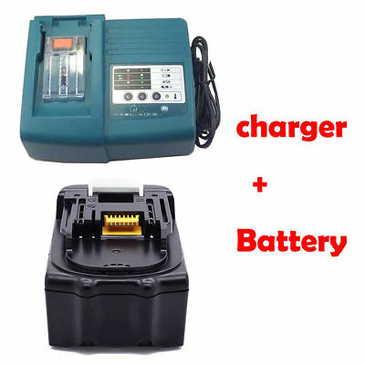 18V 3.0Ah Lithium Ion Battery For Makita Bl1830 Lxt And Charger Dc18Rc Uk Stock