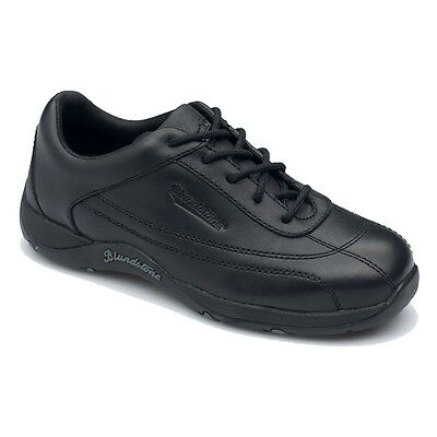 Blundstone 744 - Ladies Lace Up Safety Shoe | Black Work