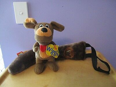 Wiggles WAGS the DOG Plush toy and  Dress up Tail