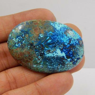87.7 Cts 100% NATURAL AZURITE BEAUTIFUL COLOUR AND QUALITY CABOCHON L#163-76