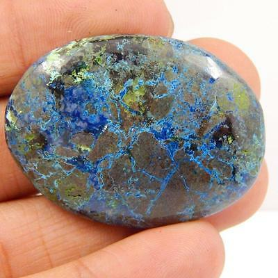 83.8 Cts 100% NATURAL AZURITE BEAUTIFUL COLOUR AND QUALITY CABOCHON L#163-27