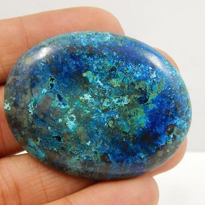 112.6 Cts 100% NATURAL AZURITE BEAUTIFUL COLOUR AND QUALITY CABOCHON L#163-77