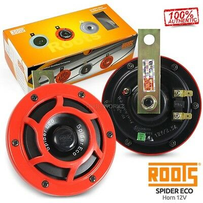 New Genuine ROOTS Spider Eco HELLA Supertone Red 12V Universal 4x4 UTE Car Horn