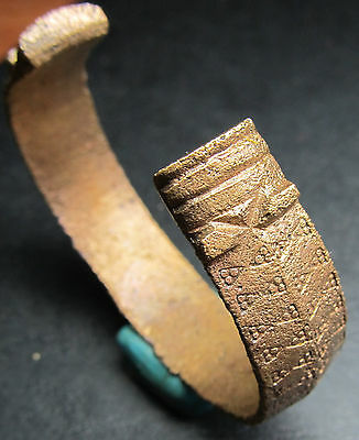Ancient Bronze Viking Bracelet. Snake.(3). Сleared.