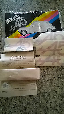 Renault 5 Alpine A5 Kit Ii Series Adesivi Laterali/ Lateral Stickers Set
