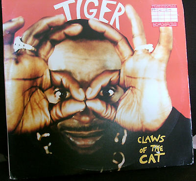 "Tiger - Claws of the cat - Lp 33 rpm 12"" reggae dance hall roots jamaica Chaos"