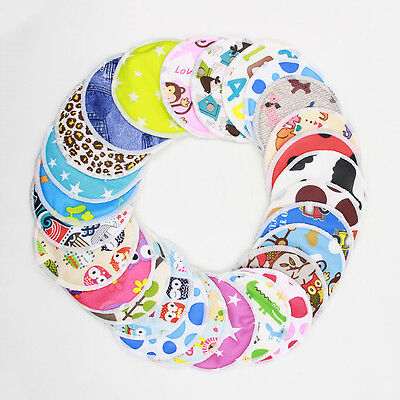 Lot Reusable Breast Pads Breastfeeding Nursing Breast Pads Washable 3 Layers