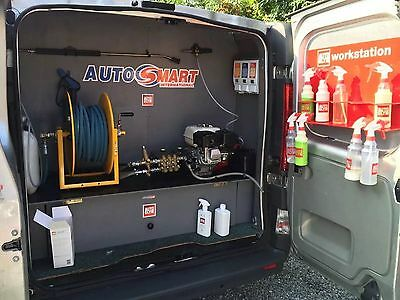 Mobile Valeting Van/business Set Up And Equipment For Ford Transit Size Van