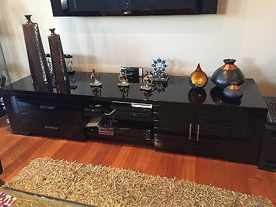 TV Stand Display Unit with Storage