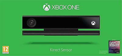 Xbox One Kinect Sensor- new condition with Dance Central and warranty