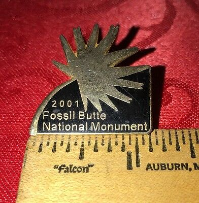 2001 Fossil Butte National Monument Pin