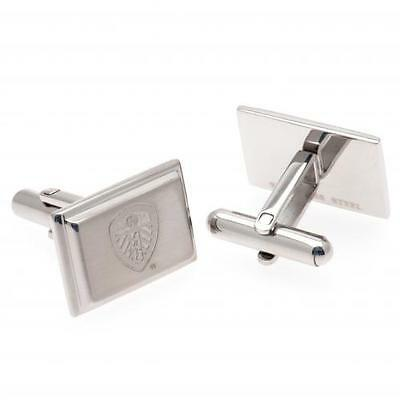 Official Licensed Football Club Leeds United Stainless Steel Cufflinks Gift Box