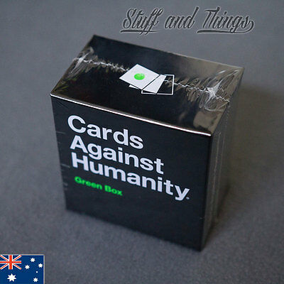 *Genuine* Cards Against Humanity - The Green Box - New Expansion - 300 New Cards