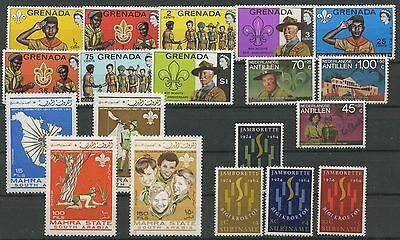 (Tx16585) Scouting, Small Collection, Um/mnh, See Scan