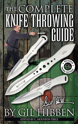 United Cutlery Gil Hibben - The Complete Knife Throwing Guide Wurfmesser Buch