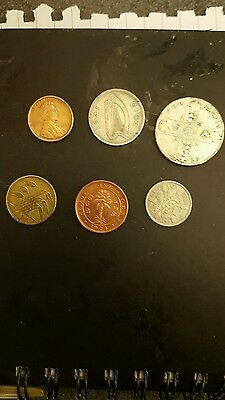Coin collection (35 coins in total)