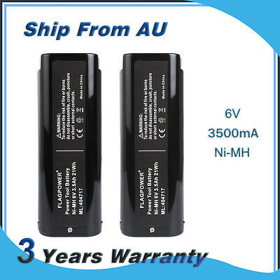 New 2Pack 6V 3500mAh Battery For Paslode 404717 IM50 IM65 IM350A 900600 902200
