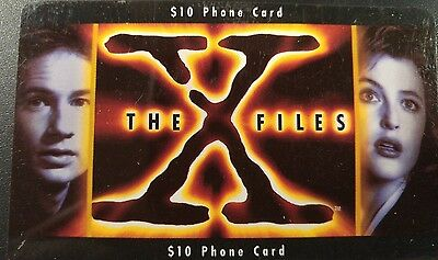 The X Files Phone Card, Frontier, Vintage 1995 Collectible