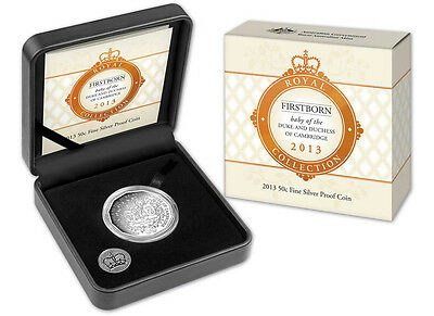 Australia: 2013 50c Prince George  Silver Proof Coin, Issue Price $80
