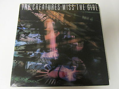 """CREATURES MISS THE GIRL (1980s NEW WAVE) VINYL 7"""" 45RPM"""