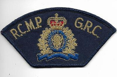 CANADA R.C.M.P. RCMP  ROYAL CANADIAN  MOUNTED Police Patch  Polizei GRC Mounties