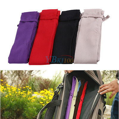 Cotton Cloth Fishing Rod Pole Protector Sleeve Cover Storage Bag Pouch 4 Colors