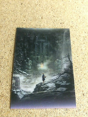 Cryptozoic Hobbit  Desolation of Smaug :  KA-06 3D Lenticular Insert Card
