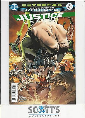 Justice League  #10  New  (Bagged & Boarded) Freepost