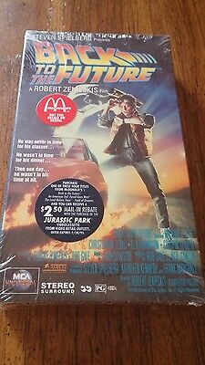 Back to the Future VHS McDonald's promotional item
