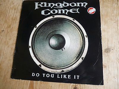 """Kingdom Come vinyl 12"""" Do You Like It Highway 6 Slow Down plays EX"""