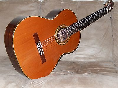 Hand Made In Japan At Zen-On Factory Super Sounding Albeniz C30 Classical Guitar